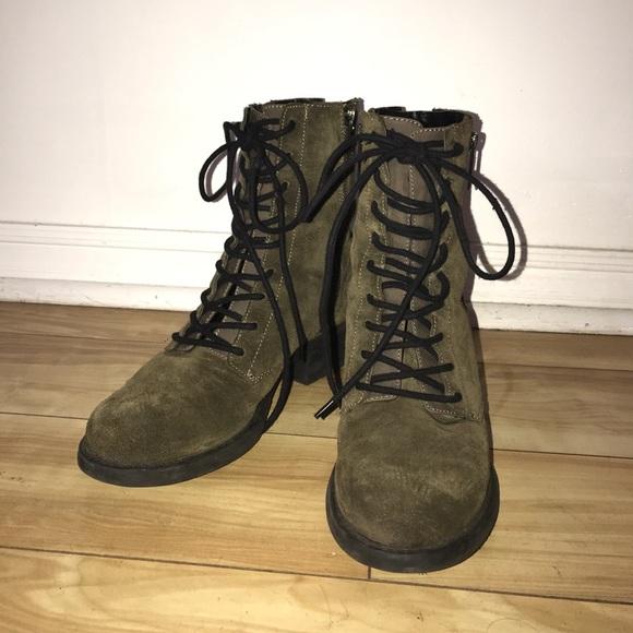 b2de6d2e62367 Circus by Sam Edelman Shoes - Sam Edelman Circus Green Suede Boots